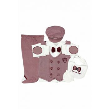 Gentleman Vest 4 Pcs Baby Set K2099
