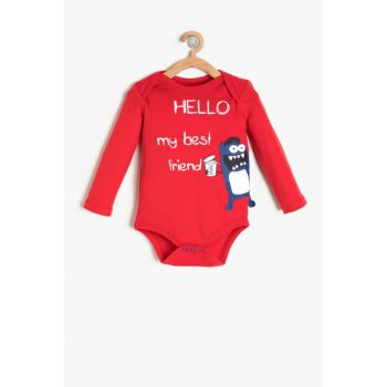 Red Boy Printed Layette 9KNB10228ZK