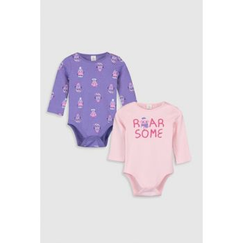 Baby Girl Snap on Body 2 pcs 9W8735Z1