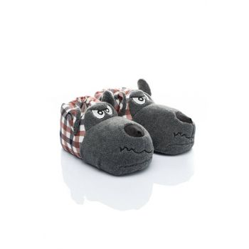 Animal Red Men's Slipper NN0459