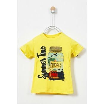 Yellow Men's T-Shirt 19117157100