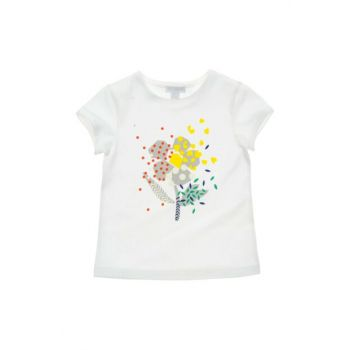 White Girl's T-Shirt 19143057100