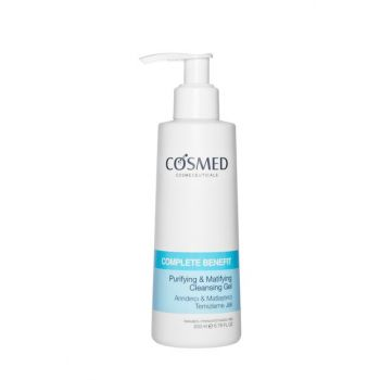 Purifying and Mattifying Facial Cleansing Gel 200 ml 8699292991787