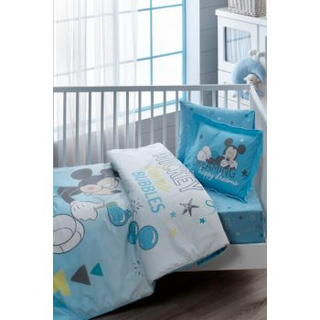 Licensed Baby Duvet Cover-Disney Mickey Bubble Baby / 60175405