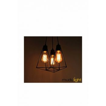 Modern Triple Chandelier MD206