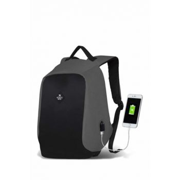My Valice Smart Bag Secret Usb Charging Port Smart Backpack Gray / MV2754