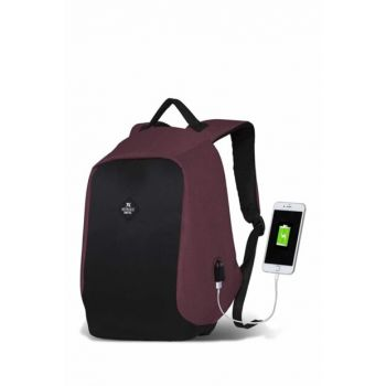 My Valice Smart Bag Secret Usb Charging Port Smart Backpack Bordeaux / MV2730