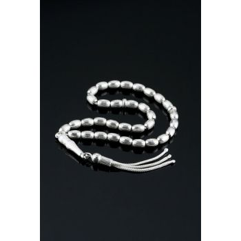 Pen Silver Prayer Beads Tbss0506