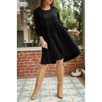 Women's Black Block Dress 9KXK6-42239-02