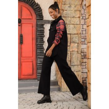 Women Black Trotter Pants ALC-KR1042