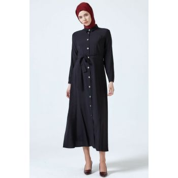 Women's Black Y Dress 3060674