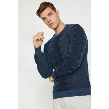 Men's Blue Sweater 0KAM91841DT