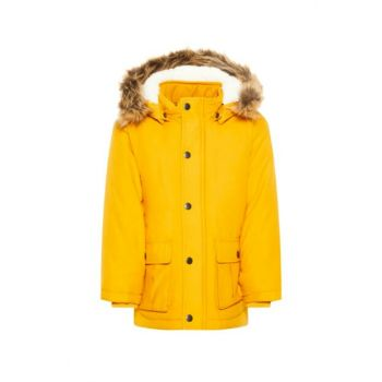 Girls Yellow Coat 13167910