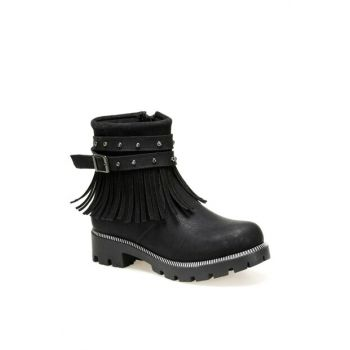 SVF81.1.19W Black Girls Boots