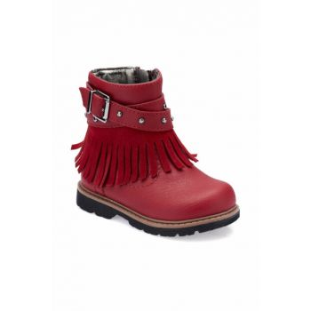 Red Girls' Boots 000000000100331474