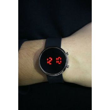 Silver Color Case with Silicone Watch Digital Unisex Watch 8695000077484