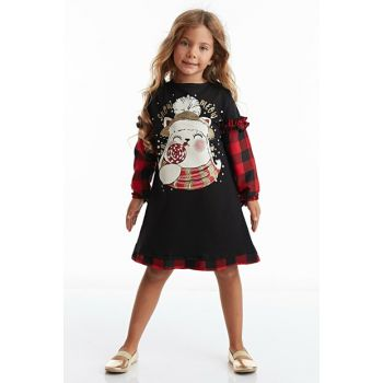 Snow Meow Girl Dress MS-19K1-044