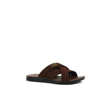Brown men's sandals 7704848