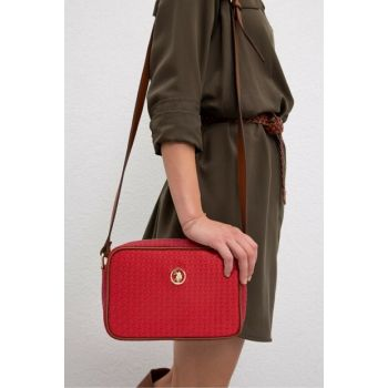 Red Women Messenger Bag Us3056 US3056