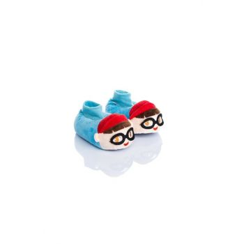 Blue Unisex Children Animal Slipper NN0556
