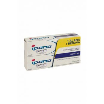 Ipana Toothpaste Luxe Perfection 75ml 1 + 1 Package 8001090133472