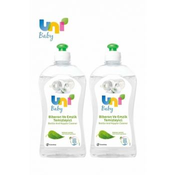Uni Baby Feeding Bottle And Pacifier Cleaner 500Ml (New) Set Of 2 PACKETUNIBABY080