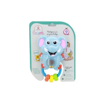 Babycim Battery Powered Elephant Rattle WD-3661A-BABY