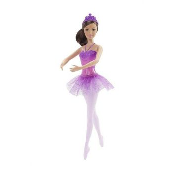 The Magic Ballerina Princess - Brown - Purple T000BCP11-4192