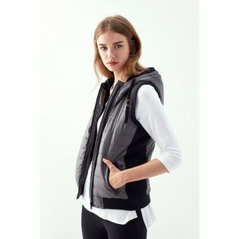 Women's Anthracite Inflatable Vest 1195480 300468