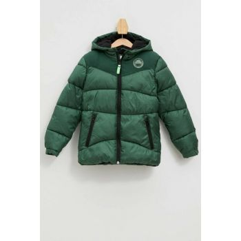 Hooded Inflatable Coat K8488A6.19AU.GN149