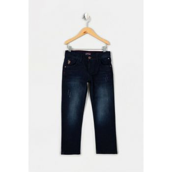 Blue Denim Trousers for Boys G083SZ080.000.853678