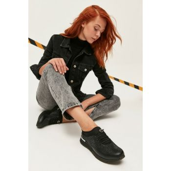 Black Women Casual Shoes 01AYY166040A100