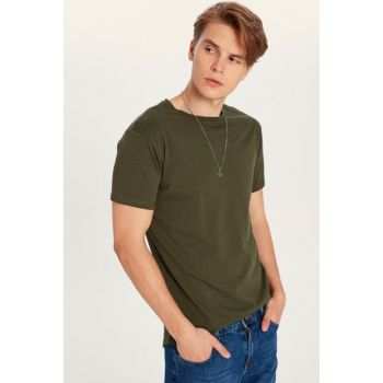 Men's Khaki T-Shirt 9WR227Z8