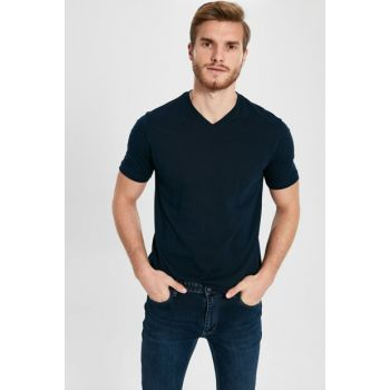 Men's New Navy Blue T-Shirt 0S1781Z8