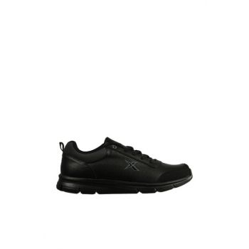 Black Gray Men's Running & Training Shoes LUCA II 9PR