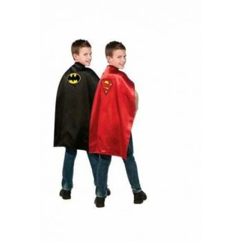 Batman And Superman Double Sided Cloak / S01000135