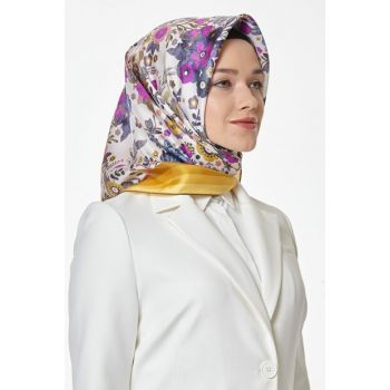 36 Dj Pure Silk Scarf with Pattern 8101D (T) 457392
