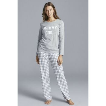 Women's Multi Color Cool Pajama Set PNHIZYMO19SK-MIX
