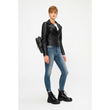 Mabelle Leather Coat (Women) BD00720