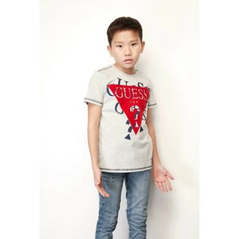 Boys' Gray T-Shirt 19FWGL93I00