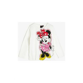 Ecru Kids Minnie By Cotton T-Shirt 0KKG17227AK