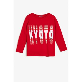 Red Children's T-Shirt 0KKB18193OK