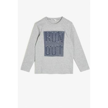 Gray Children's T-Shirt 0KKB16004OK