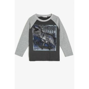 Gray Children's T-Shirt 0KKB16388OK