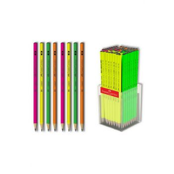 Faber Candy 2B Round Pencil 72 Li Pack (5244116802) F5244116802P72