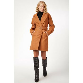 Women's Taba Arched Stamp Coat BL00055