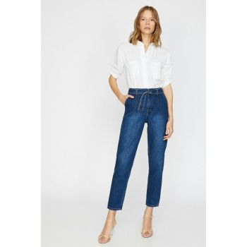 Women's Blue Mom Jean 0KAK47275MD