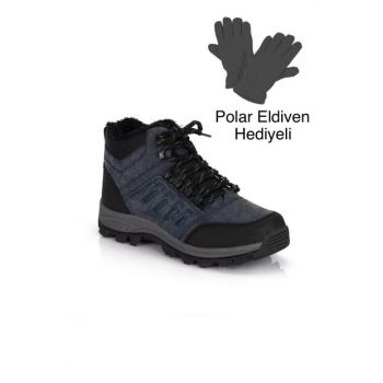 Navy Blue Men's Outdoor Shoes DPRMGMSTPX6