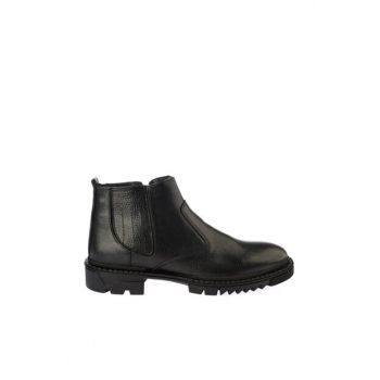 Black Men's Boots & Booties 02BOY163040A100