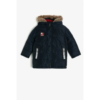 Navy Blue Children's Coat 0KKB06160OW